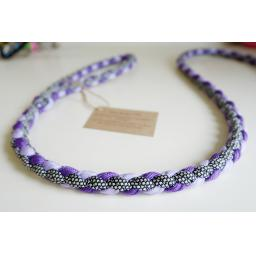 1m Paracord 550 Rope Lead - 'Juicy Grape'