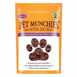 Pet Munchies Liver & Chicken Training Treats 50g
