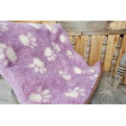 Handmade Blanket, Dusty Pink