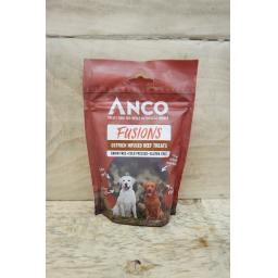 Anco Fusions Ostrich Infused Beef Treats 100g