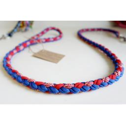 1m Paracord 550 Rope Lead - 'Berry Tart'