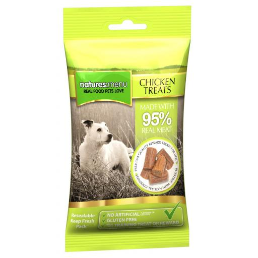Natures Menu Chicken Treats 60g