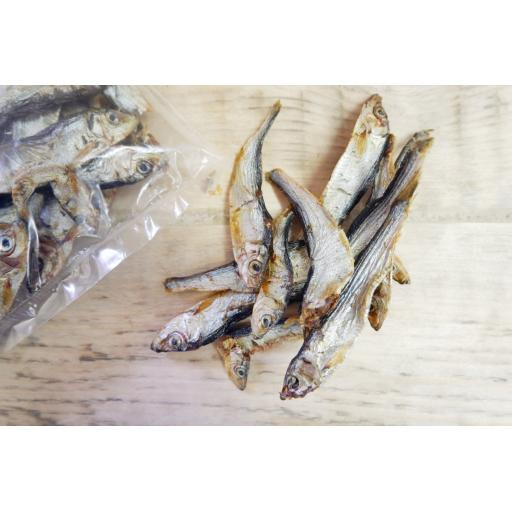 JR Dried Baltic Whole Sprats 85g