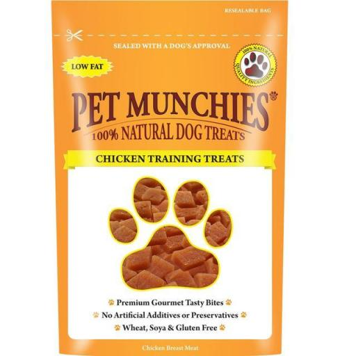 Pet Munchies Chicken Training Treats 50g