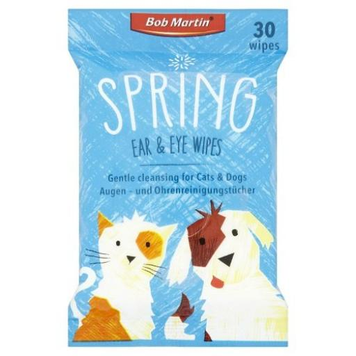 Bob Martin Spring Ear & Eye Wipes