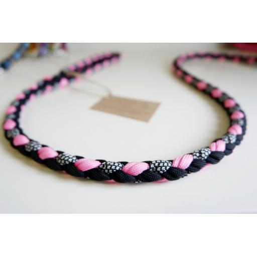 1m Paracord 550 Rope Lead - 'Pitaya Sensation'
