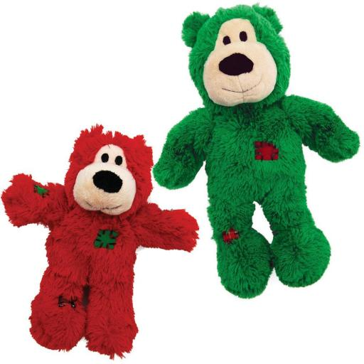 KONG Holiday Wild Knots Bear, S/M