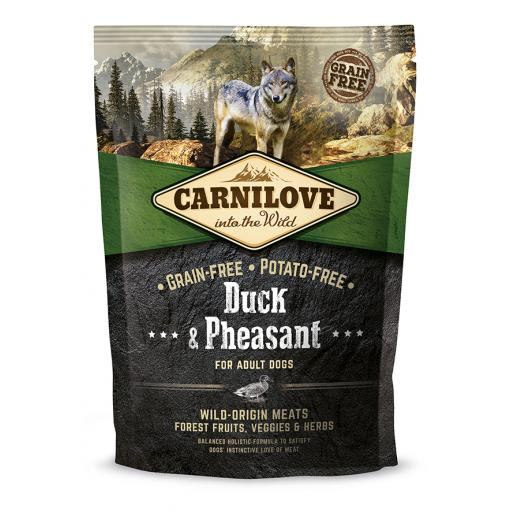 Carnilove Duck & Pheasant Adult Dog Food 1.5kg