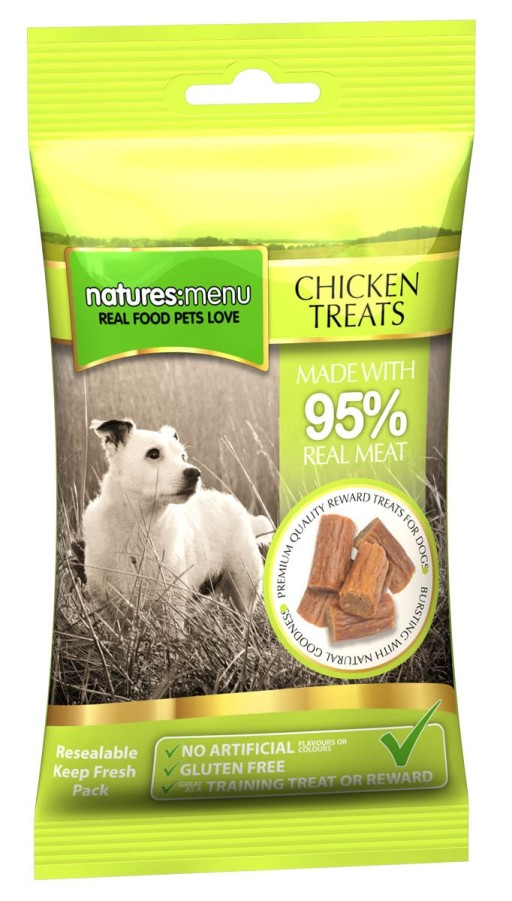 Natures Menu Chicken Treats 60g