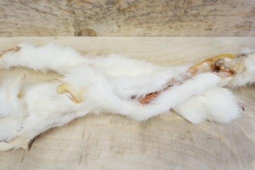 Rabbit Skin with Hair - Singles