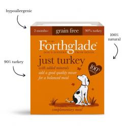 Forthglade Just Turkey (395g)