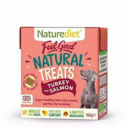 Naturediet Turkey & Salmon Treats 150g