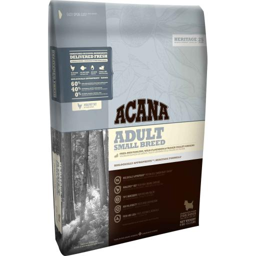ACANA Heritage Adult Small Breed Dog Food 2kg