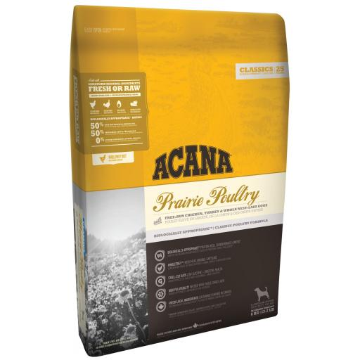 ACANA Classics Prairie Poultry Adult Dog Food 2kg