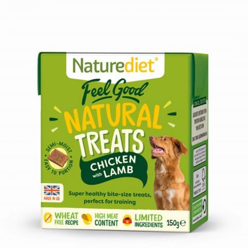 Naturediet Chicken & Lamb Treats 150g