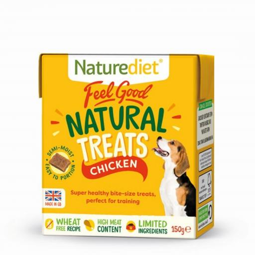 Naturediet Chicken Treats 150g