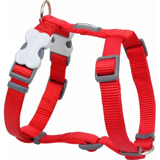 Red Dingo Plain Red Harness