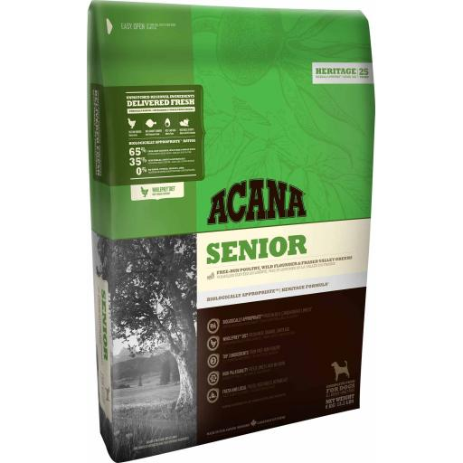 ACANA Heritage Senior Dog Food 2kg