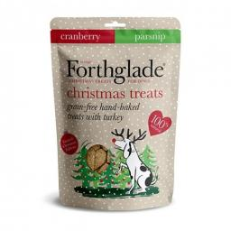 Forthglade Christmas Treats with Turkey, Cranberry and Parsnip 150g