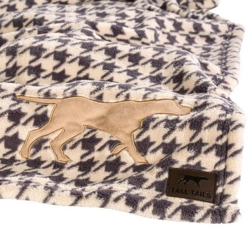 Tall Tails Premium Houndstooth Dog Blanket