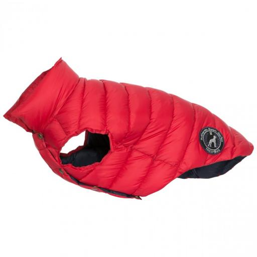 Trespaws Dogby Down Jacket, Postbox Red
