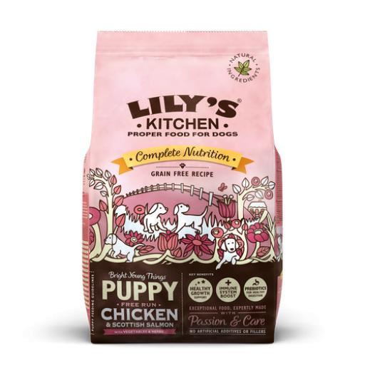 Lily's Kitchen Chicken & Salmon Dry Food for Puppies 2.5kg