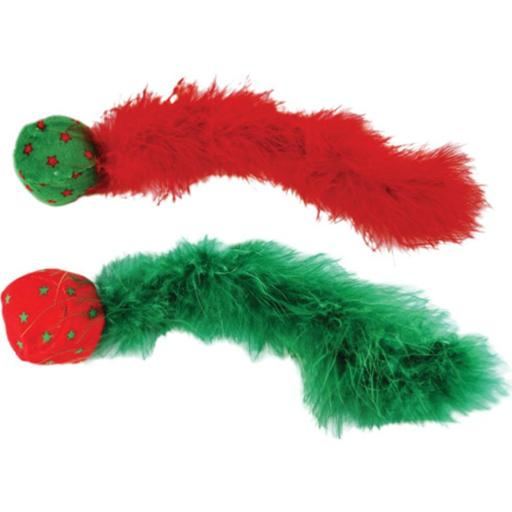 KONG Christmas Wild Tails Active Cat Toy