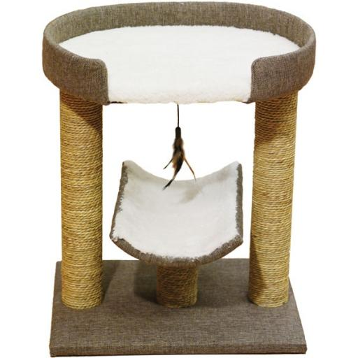 Rosewood Saffron Cat Scratching Post