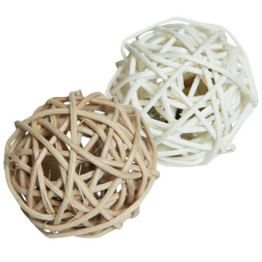 Jolly Moggy Silvervine Rattan Ball Cat Toys