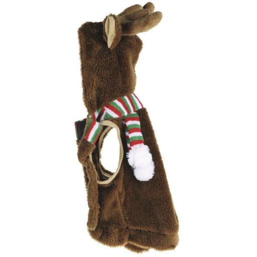 Happy Pet Christmas Reindeer Outfit
