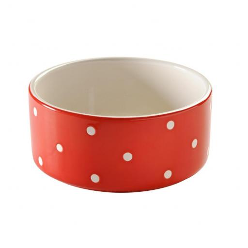 Red Polka Dot Mason Cash Bowl
