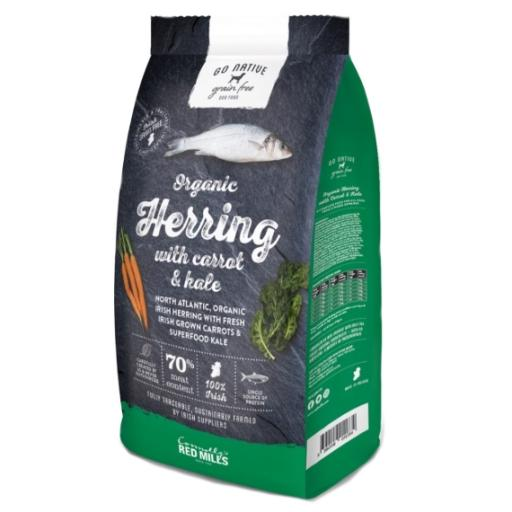 Go Native Organic Herring with Carrot and Kale