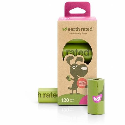 Earth Rated Poop Bags Lavender Scented 120pk