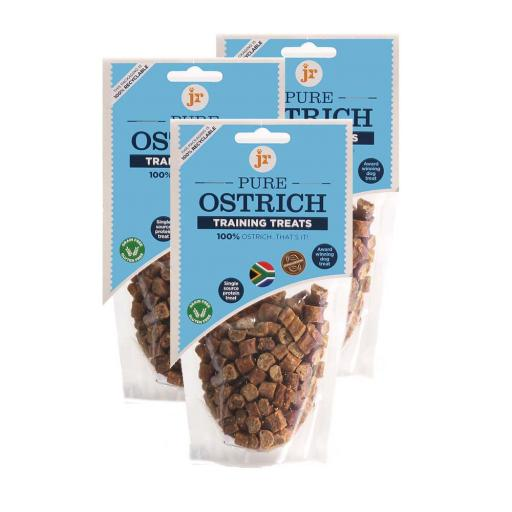 JR Pure Ostrich Training Treats 85g