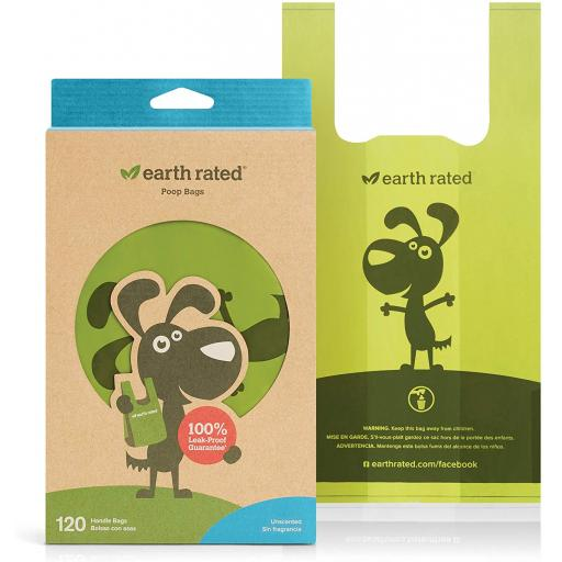 Earth Rated Handle Poop Bags 120pk