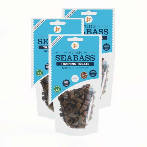 JR Pure Seabass Training Treats 85g