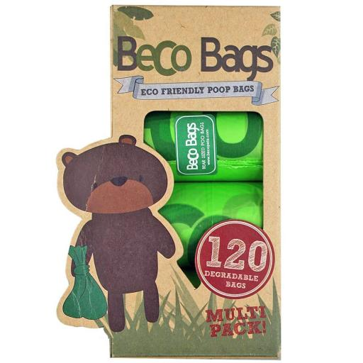 Beco Degradable Poop Bags 120pk