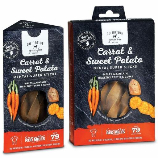 Go Native Dental Sticks Carrot & Sweet Potato