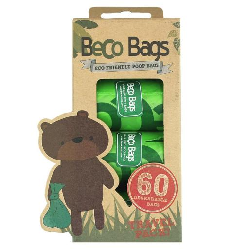 Beco Degradable Poop Bags 60pk