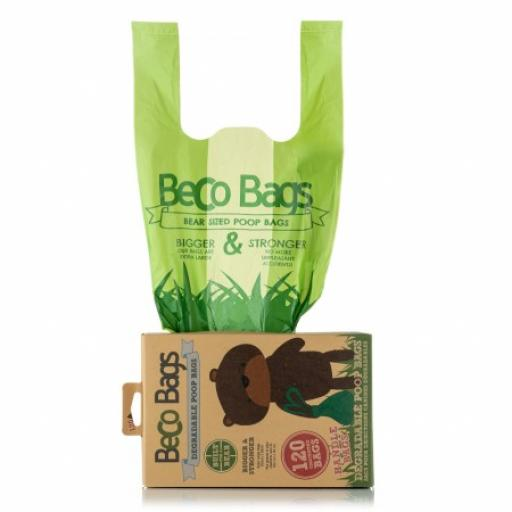 Beco Degradable Handle Poop Bags 120pk