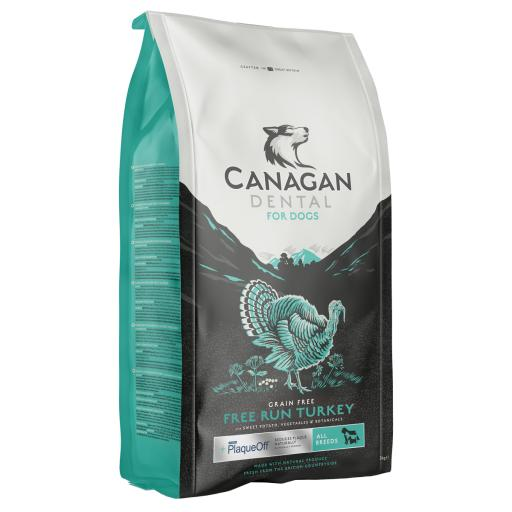 Canagan Free Run Turkey Dental Dog Food