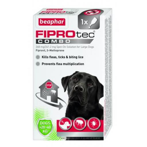 Beaphar FIPROtec® COMBO for Large Dogs