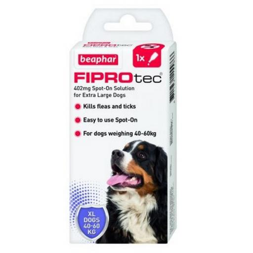 Beaphar FIPROtec Spot-On for Extra Large Dogs
