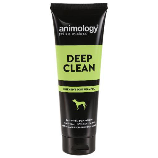 Animology Deep Clean Intensive Dog Shampoo 250ml