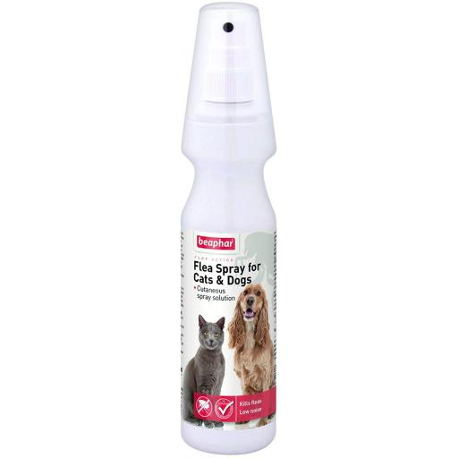 Beaphar Flea Spray for Cats & Dogs
