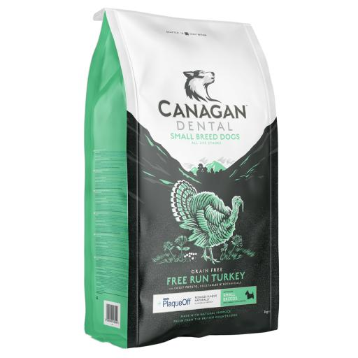 Canagan Small Breed Free Run Turkey Dental Dog Food