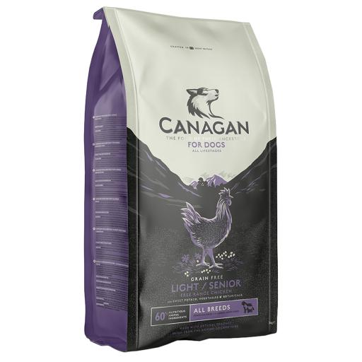 Canagan Light / Senior Free-Range Chicken Dog Food