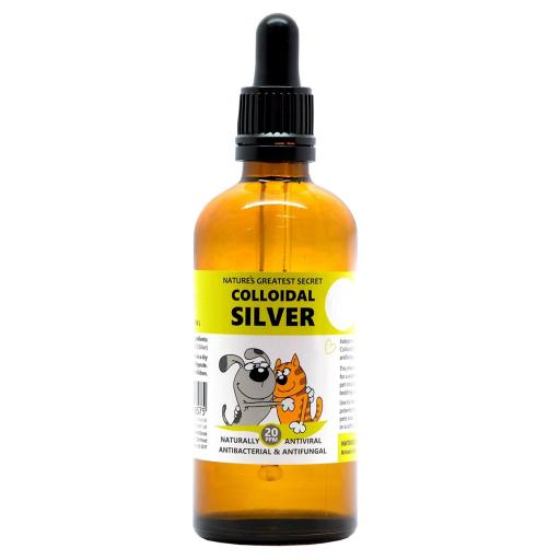 Colloidal Silver with Pipette 100ml